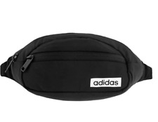 Adidas Core Waist Pack Travel Bag Fanny Pack Belt bag , Black/White Retro, NEW