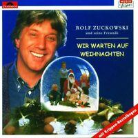 ROLF ZUCKOWSKI - WIR WARTEN AUF WEIHNACHTEN  CD  12 TRACKS WEIHNACHTSLIEDER NEU