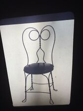 "Sheldon Brody ""Ice Cream Parlor Chair"" Photography 35mm Slide"