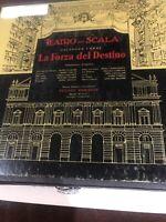 1954 La Forza del Destino Teatro alla Scala Angel Records 33⅓ LP vinyl Exce