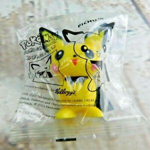 Pokemon Bowl Pals Nintendo Pichu Kelloggs Cereal Premium Toy 2001 Sealed