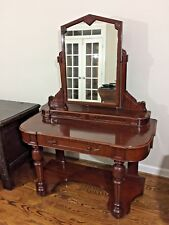Antique Victorian Mahogany Duchess Dressing Table -c.1860- Shipping Available