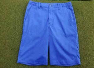 Nike Golf Women's + L/L + POLY + Blue Capri + gw00571