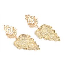 Fashion Women Bohemian Alloy Pierced Long Dangle Drop Earrings Boho Jewelry Gift