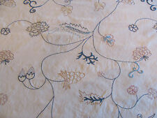 """Gorgeous Chelsea Editions Fabric """"OAK LEAVES VINE"""" in Blue 8+ Yards #2012"""
