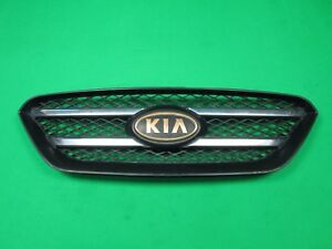 2007-2010 KIA RONDO FRONT UPPER *CHROME & GOLD* GRILLE GRILL ASSEMBLY OEM USED