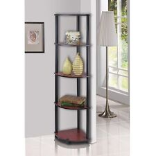 Shelves Corner Display Rack 5 Tier Shelf Stand Furniture Storage Home Office NEW