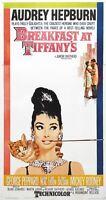 Breakfast at Tiffanys (1961) Audrey Hepburn Patricia Neal Poster 11x17 27x40 NEW