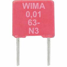 WIMA MKS-2 Serie 63/50 VDC 10 % RM-5mm Werte 10 nF bis 4,7 µF