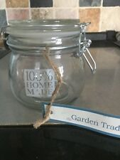 Brand New Garden Trading Preserving Kilner Jar