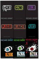 Gone Series Michael Grant Collection 9 Books Set BZRK Fear Hunger Lies Plague