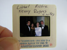 More details for original press photo slide negative - lionel richie & kenny rogers & wives -1984