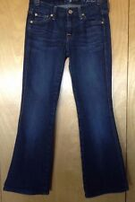 """7 SEVEN FOR ALL MANKIND """"A POCKET"""" JEANS TAG 25 (26 X 27) EUC"""
