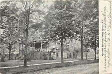 1901-07 Print Postcard; Oakwood Seminary, Union Springs NY Cayuga County Posted