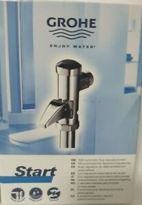 1 X GROHE Start WC-Druckspüler Vollautomatik 37401000)