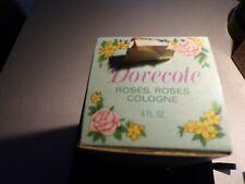 New Vintage Avon Dovecote Roses Roses Fragrance Cologne Dove 4 oz