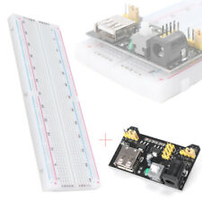 MB-102 Solderless Breadboard Protoboard 830 Tie Points 2 buses Test Circuit b st