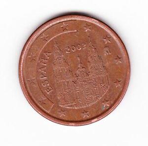 Pièce de monnaie 5 cent centimes euroEspagne 2003