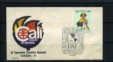 EXFICALI/71,-   cancel special ''FIAF,- Asamblea RIO DE JANEIRO 1972  rare