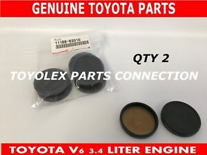 NEW GENUINE TOYOTA - LEXUS VALVE COVER CAM PLUGS 11188-62010 QTY 2