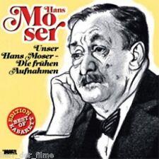UNSER HANS MOSER: DIE FRÜHEN AUFNAHMEN (Audio-CD) OVP