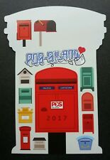 Malaysia World Post Day PostCrossing 2017 Postbox (postcard) MNH *official *odd
