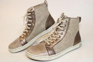 Birkenstock Bartlett Womens 41 10 Beige Metallic High Tops Sneakers Shoes