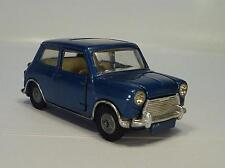 Corgi toys 334 BMC mini-Cooper con corredizo metalizado azul nº 2 #217