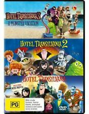 Hotel Transylvania, Hotel Transylvania 2 and Hotel Transylvania 3: A Monster Vacation (DVD, 2018, Set of 3 Discs)