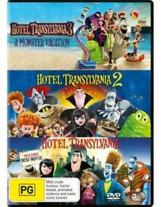 Hotel Transylvania 1 ~ 3  (Region 4, 3 Disc DVD Set) *New &Sealed*