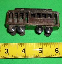 San Francisco Trolley Miniature Dollhouse Diecast Metal Pencil Sharpener
