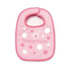 Amscan 1St Birthday Princess Bib Baby Girl Party Accessory Gift Pink