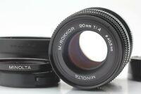 Late Model {A.MINT} MINOLTA M Rokkor 90mm f4 Leica M mount CLE CL JAPAN 5454