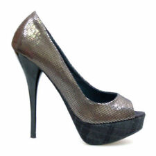 Unbranded High (3 in. to 4.5 in.) Wear to Work Synthetic Heels for Women