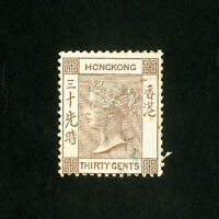 Hong Kong Stamps # 48 VF Used
