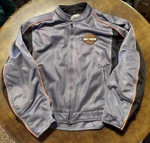 Mens Harley Davidson Textile Jacket
