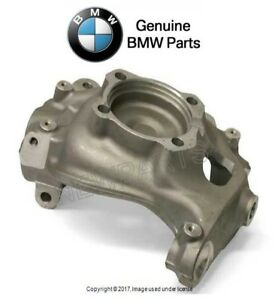 For BMW E60 5 Series Front Driver Left Steering Knuckle Wheel Carrier Genuine