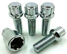 4x ALLOY WHEEL LOCKING BOLTS FOR T4 TRANSPORTER M14X1.5 28MM,NUTS,LUG,STUD (60)