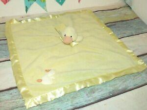NWT Blankets & Beyond Duck Yellow Fleece Chick Lovey Nunu Baby Security Blanket