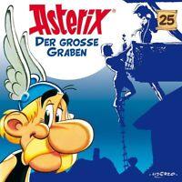 ASTERIX - 25: DER GROßE GRABEN   CD NEW