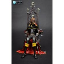 Albator CAPTAIN HARLOCK ON THRONE PVC FIGURE HIGH DREAM Statue Vinyl NEW HL-Pro