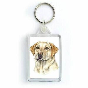 Golden yellow  Labrador * Key Ring