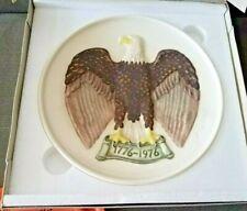 Bald Eagle Plate Bas Relief, Limited Ed Goebel West Germany 1975 signed Frobek