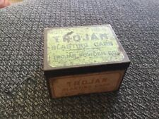 Mining - Green Trojan Blasting Cap Tin No.6 - 100 Ct. vintage antique box old