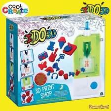 COOL creare IDO3D 3D Print Shop in 2 CARTUCCE 3 molulds & BLOCCHI 4D