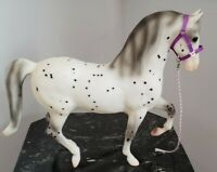 Breyer 1409 Let's Go Riding Traditional 1:9 Appaloosa Horse White Displayed Only