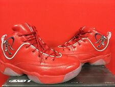 AND1 Coney Island Classic Red Stephon Marbury SZ 10.5 Mint CONDITION **RARE***