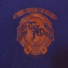 TSO TRANS-SIBERIAN ORCHESTRA LOCAL CREW CONCERT TOUR T SHIRT Sz XL