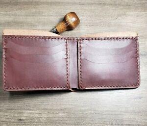 Handmade Horween Bifold Wallet