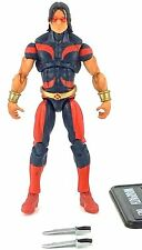 Marvel Universe 2009 WARPATH (RED & BLUE COSTUME VARIANT) (SERIES 2 #003) Loose